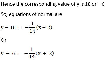 RD Sharma Solutions for Class 12 Maths Chapter 16 Tangents and Normals Image 77