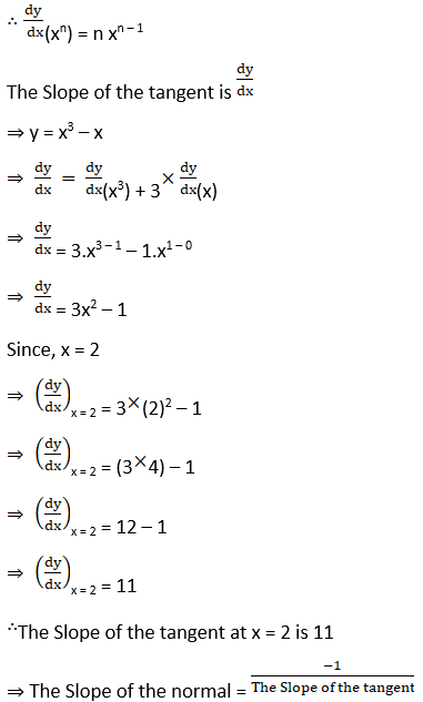 RD Sharma Solutions for Class 12 Maths Chapter 16 Tangents and Normals Image 8