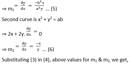 RD Sharma Solutions for Class 12 Maths Chapter 16 Tangents and Normals Image 96