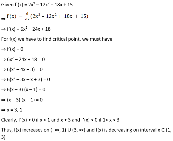 RD Sharma Solutions for Class 12 Maths Chapter 17 Increaing and Decreasing Functions Image 10