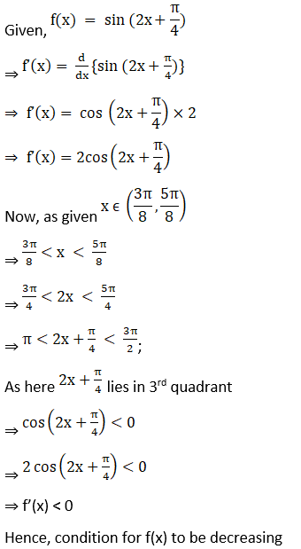 RD Sharma Solutions for Class 12 Maths Chapter 17 Increaing and Decreasing Functions Image 35