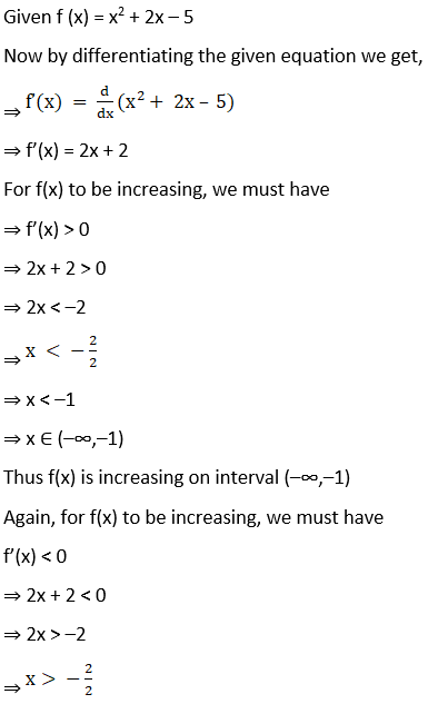 RD Sharma Solutions for Class 12 Maths Chapter 17 Increaing and Decreasing Functions Image 6