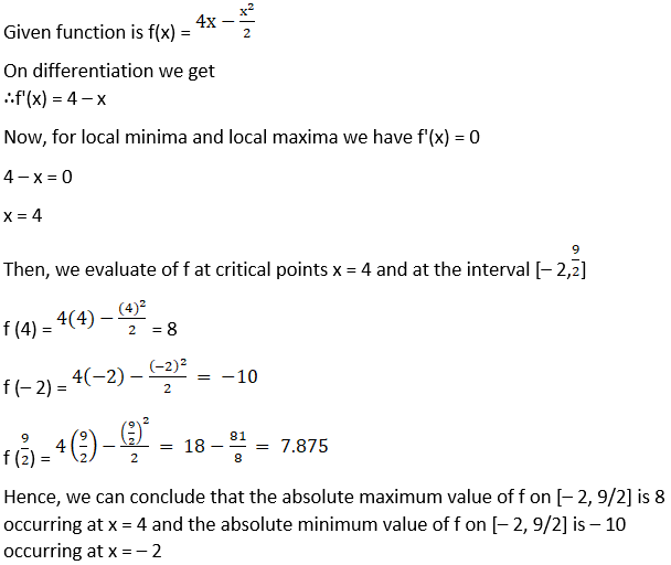 RD Sharma Solutions for Class 12 Maths Chapter 18 Maxima and Minima Image 10
