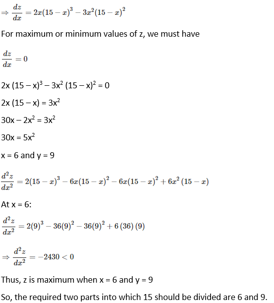 RD Sharma Solutions for Class 12 Maths Chapter 18 Maxima and Minima Image 18