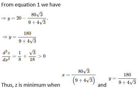 RD Sharma Solutions for Class 12 Maths Chapter 18 Maxima and Minima Image 32