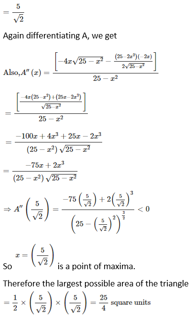 RD Sharma Solutions for Class 12 Maths Chapter 18 Maxima and Minima Image 39