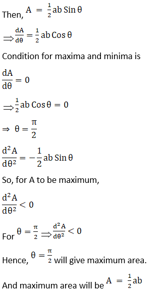 RD Sharma Solutions for Class 12 Maths Chapter 18 Maxima and Minima Image 40