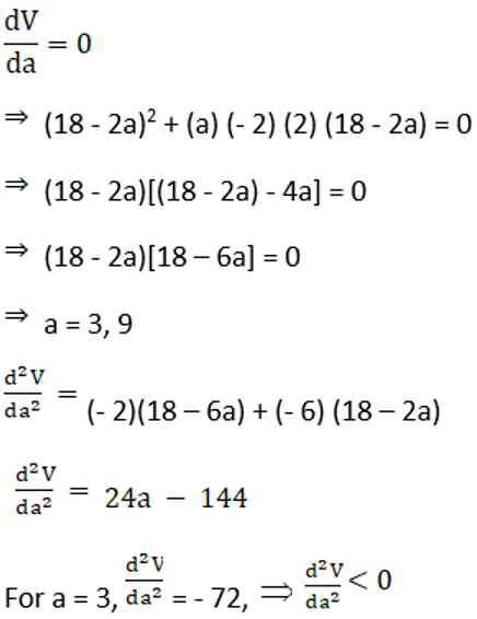 RD Sharma Solutions for Class 12 Maths Chapter 18 Maxima and Minima Image 43