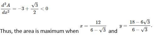 RD Sharma Solutions for Class 12 Maths Chapter 18 Maxima and Minima Image 54