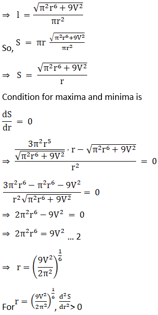 RD Sharma Solutions for Class 12 Maths Chapter 18 Maxima and Minima Image 65