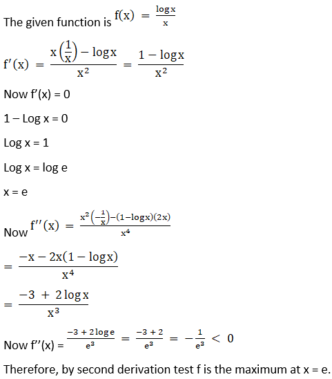 RD Sharma Solutions for Class 12 Maths Chapter 18 Maxima and Minima Image 9