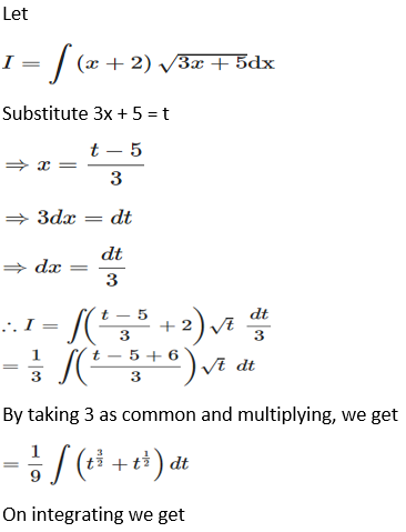 RD Sharma Solutions for Class 12 Maths Chapter 19 Indefinite Integrals Image 111