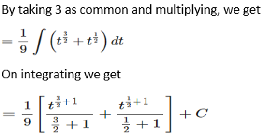 RD Sharma Solutions for Class 12 Maths Chapter 19 Indefinite Integrals Image 111a