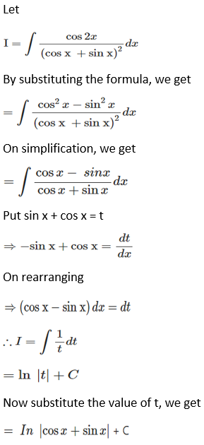 RD Sharma Solutions for Class 12 Maths Chapter 19 Indefinite Integrals Image 145