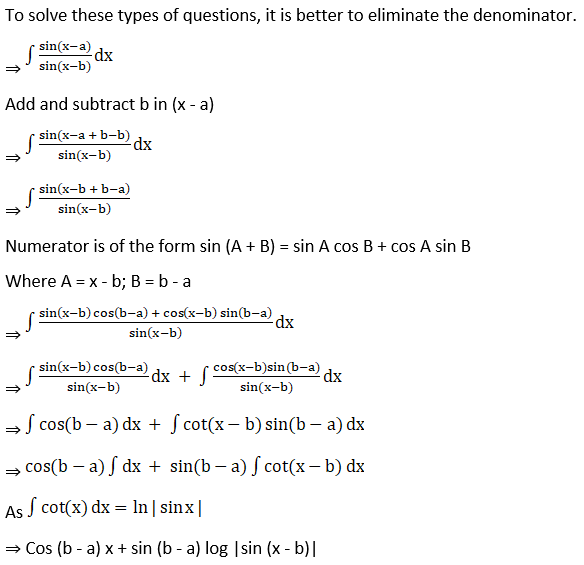RD Sharma Solutions for Class 12 Maths Chapter 19 Indefinite Integrals Image 147