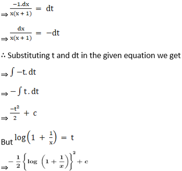 RD Sharma Solutions for Class 12 Maths Chapter 19 Indefinite Integrals Image 152