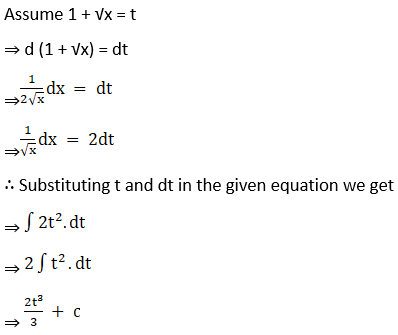 RD Sharma Solutions for Class 12 Maths Chapter 19 Indefinite Integrals Image 154