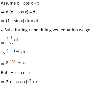 RD Sharma Solutions for Class 12 Maths Chapter 19 Indefinite Integrals Image 169