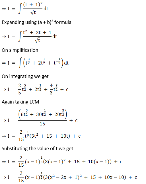 RD Sharma Solutions for Class 12 Maths Chapter 19 Indefinite Integrals Image 177