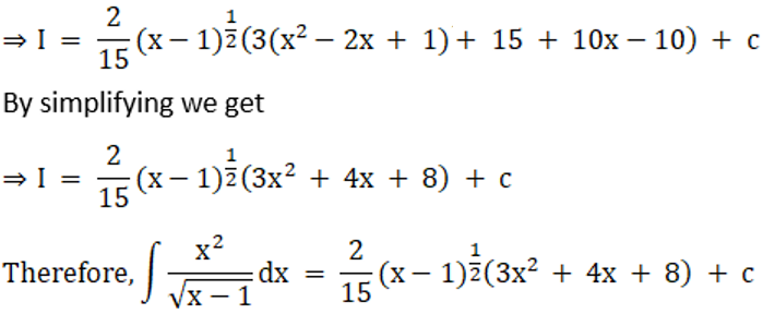 RD Sharma Solutions for Class 12 Maths Chapter 19 Indefinite Integrals Image 178