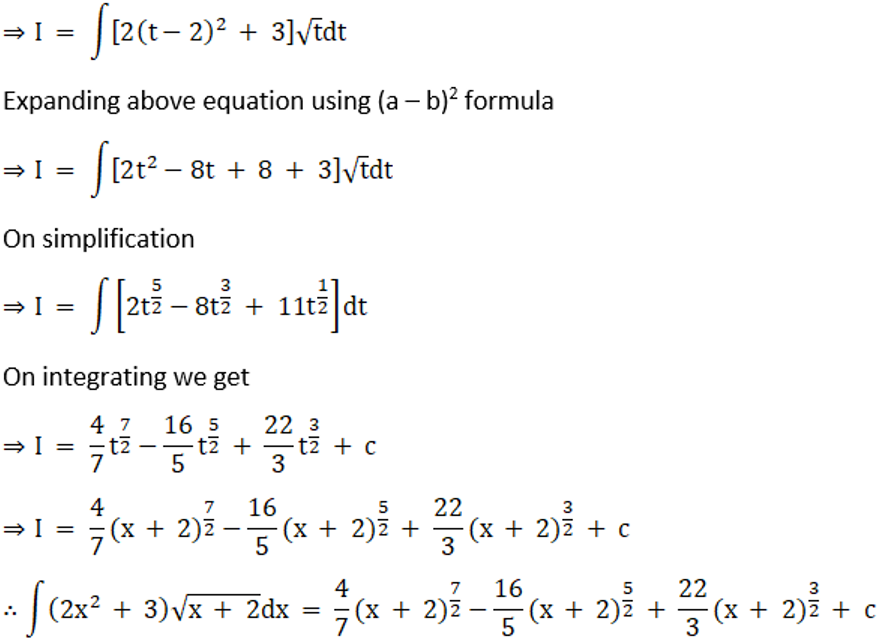RD Sharma Solutions for Class 12 Maths Chapter 19 Indefinite Integrals Image 186