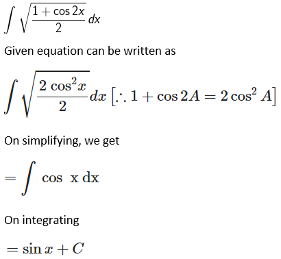 RD Sharma Solutions for Class 12 Maths Chapter 19 Indefinite Integrals Image 20