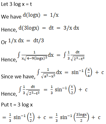 RD Sharma Solutions for Class 12 Maths Chapter 19 Indefinite Integrals Image 293