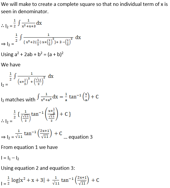 RD Sharma Solutions for Class 12 Maths Chapter 19 Indefinite Integrals Image 309