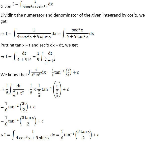 RD Sharma Solutions for Class 12 Maths Chapter 19 Indefinite Integrals Image 377