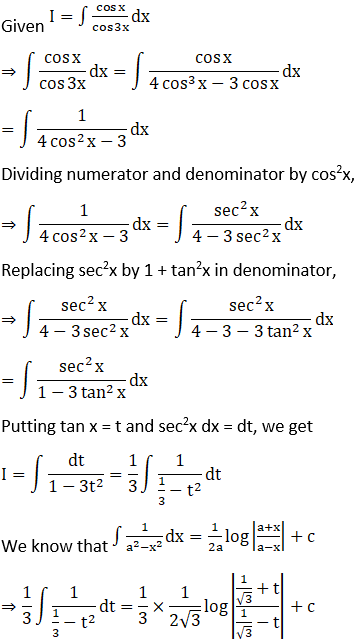 RD Sharma Solutions for Class 12 Maths Chapter 19 Indefinite Integrals Image 385