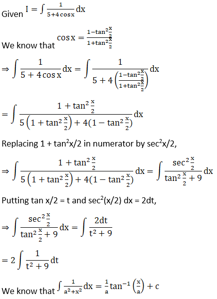 RD Sharma Solutions for Class 12 Maths Chapter 19 Indefinite Integrals Image 388