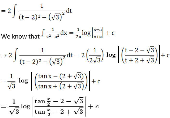RD Sharma Solutions for Class 12 Maths Chapter 19 Indefinite Integrals Image 396