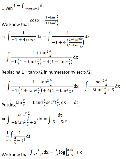 RD Sharma Solutions for Class 12 Maths Chapter 19 Indefinite Integrals Image 398