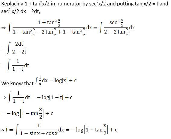 RD Sharma Solutions for Class 12 Maths Chapter 19 Indefinite Integrals Image 402