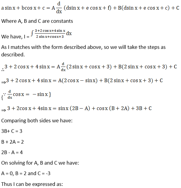 RD Sharma Solutions for Class 12 Maths Chapter 19 Indefinite Integrals Image 413