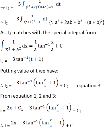 RD Sharma Solutions for Class 12 Maths Chapter 19 Indefinite Integrals Image 417