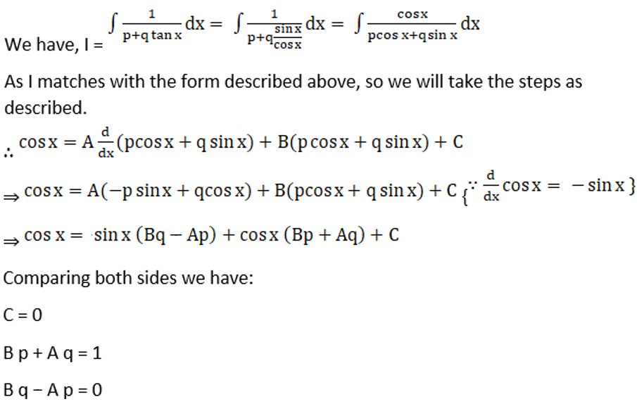 RD Sharma Solutions for Class 12 Maths Chapter 19 Indefinite Integrals Image 419a