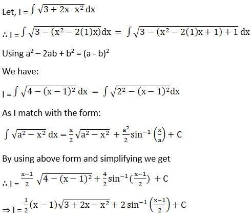 RD Sharma Solutions for Class 12 Maths Chapter 19 Indefinite Integrals Image 463