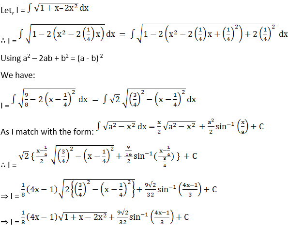 RD Sharma Solutions for Class 12 Maths Chapter 19 Indefinite Integrals Image 471