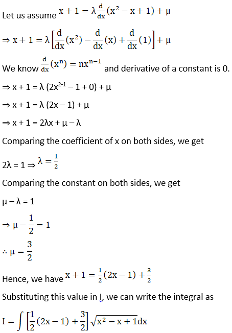 RD Sharma Solutions for Class 12 Maths Chapter 19 Indefinite Integrals Image 476