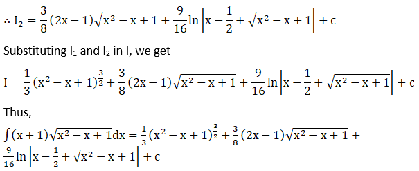 RD Sharma Solutions for Class 12 Maths Chapter 19 Indefinite Integrals Image 480