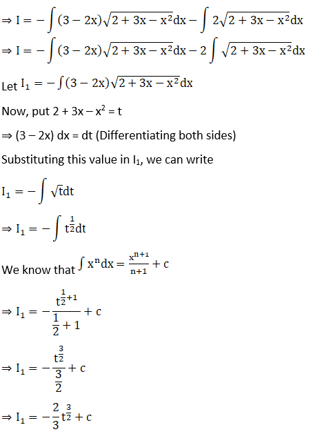 RD Sharma Solutions for Class 12 Maths Chapter 19 Indefinite Integrals Image 491