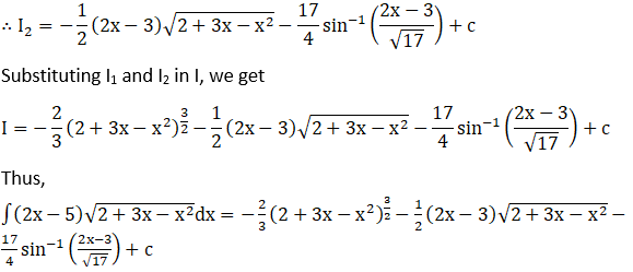 RD Sharma Solutions for Class 12 Maths Chapter 19 Indefinite Integrals Image 494