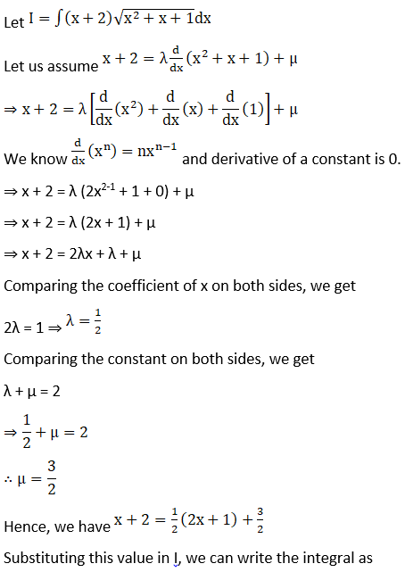 RD Sharma Solutions for Class 12 Maths Chapter 19 Indefinite Integrals Image 497