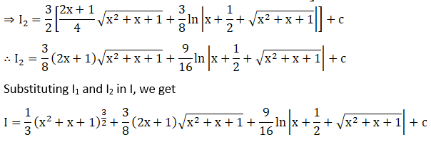 RD Sharma Solutions for Class 12 Maths Chapter 19 Indefinite Integrals Image 501