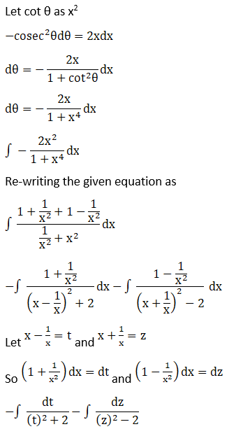 RD Sharma Solutions for Class 12 Maths Chapter 19 Indefinite Integrals Image 533