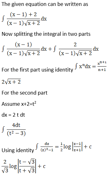 RD Sharma Solutions for Class 12 Maths Chapter 19 Indefinite Integrals Image 551