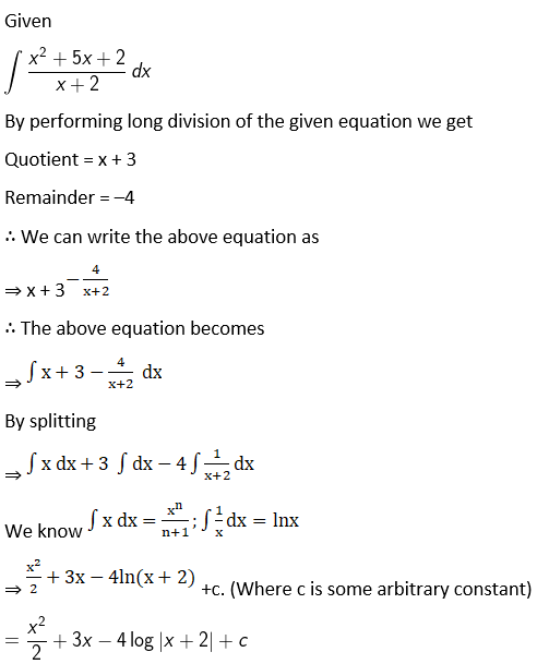 RD Sharma Solutions for Class 12 Maths Chapter 19 Indefinite Integrals Image 96