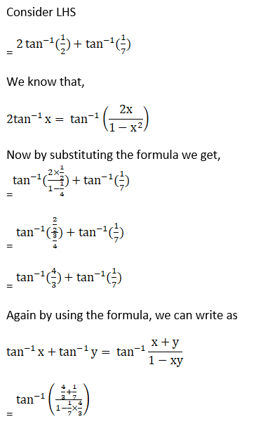 RD Sharma Solutions for Class 12 Maths Chapter 4 Inverse Trigonometric Functions Image 100