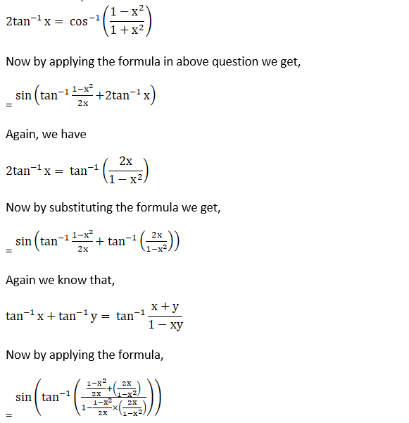 RD Sharma Solutions for Class 12 Maths Chapter 4 Inverse Trigonometric Functions Image 109